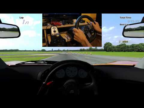 GT5 McLaren F1 Top Gear lap