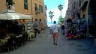 San Lorenzo Al Mare Italy  city photos : La piazzetta, San Lorenzo al Mare Imperia Riviera dei Fiori da Albergo Lucciola