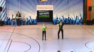 julia Nicklas & Mathias Krieger - Nordbayerische Meisterschaft 2015