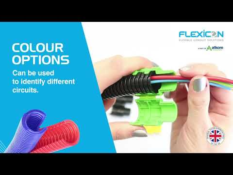 Flexicon Divisible Slit FPADS Flexible Conduit