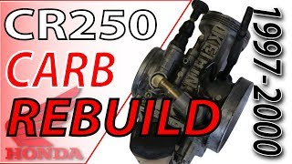 6. 97-00 Honda Cr250 Keihin Carb Rebuild | Fix Your Dirt Bike.com