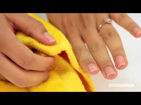 how to whiten and strengthen nails