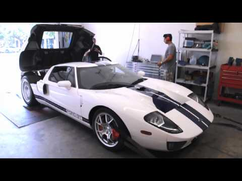Boost Logic Ford GT Dyno Pull 580rwhp