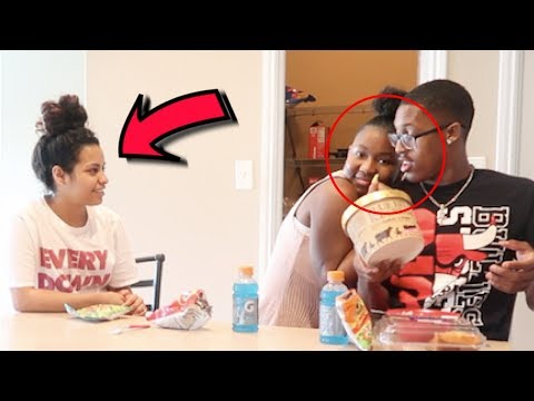 Flirting With Your Boyfriend Prank On Carmen And Corey !!!