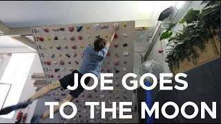 JOE GOES TO THE MOONboard by Bouldering Bobat
