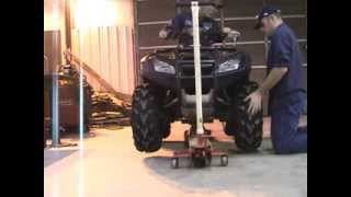 9. Honda Rincon Diff Lock Test
