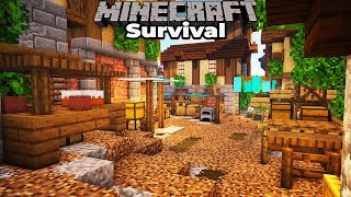 Minecraft 1.15 Survival : Building with fWhip : How to build a Medieval City Marketplace
