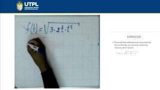 UTPL FUNCIONES DECRECIENTES [(ECONOMÍA)(CÁLCULO I)]