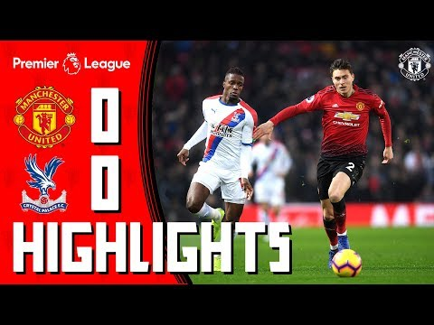 Highlights | Manchester United 0-0 Crystal Palace | Premier League