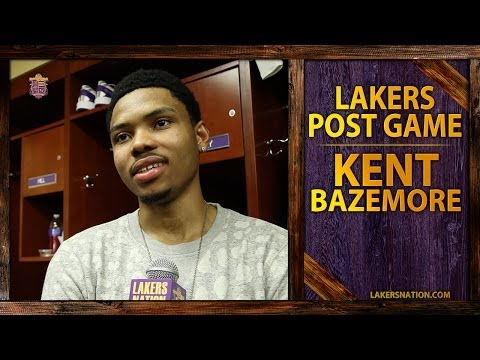Video: Lakers vs. Thunder: Kent Bazemore Reacts To Getting Dunked On By Russell Westbrook
