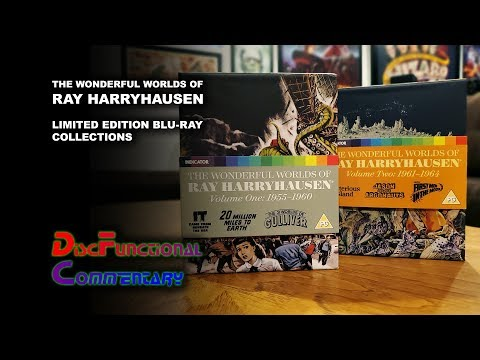 The Wonderful Worlds Of Ray Harryhausen (Limited Edition Blu-ray Collections)