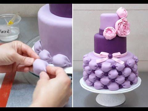 Как сделать свадебный торт с мастикой своими руками