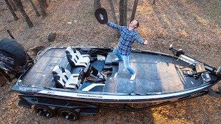 Video MY NEW FISHING BOAT HAS ARRIVED!!! MP3, 3GP, MP4, WEBM, AVI, FLV Januari 2019
