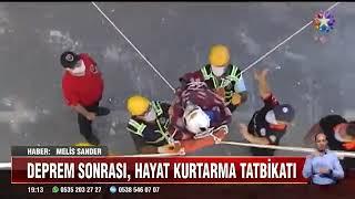 Gaziosmanpaşa'da Deprem Tatbikatı - Star Tv