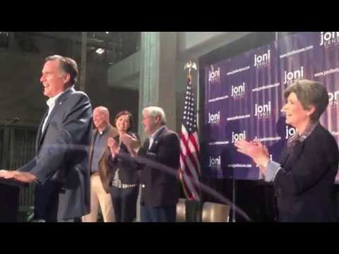 romney - Mitt Romney Cracks Hilarious Joke At Obama's Expense (October 12, 2014)
