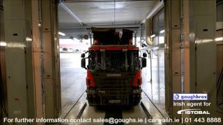 Truck wash Touchless
