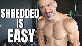 Video How To Get Shredded Easy Steps MP3, 3GP, MP4, WEBM, AVI, FLV September 2018
