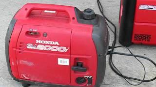 5. Review CPE Generator 2000 watt inverter VS Honda EU2000i