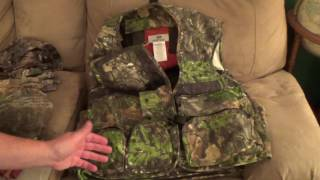 """I picked up a new """"true"""" turkey vest to try this turkey season. It's in Mossy Oak Obession pattern, and comes with tons of storage, yet not bulky like a backpack.UPDATE: I just went out hunting with this vest for the first time today and it was amazing.  Fit was perfect and not hot (that's a big deal in SoCal)...weight was balanced and the seat cushion was soft yet sturdy.  The pockets were easy to access, even the back turkey carry pack."""