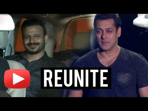 Salman Khan And Vivek Oberoi Reunite At Shah Rukh
