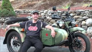 9. Owner Experience  Jeff Ottaviano, 2014 Ural Gear Up Custom, AlphaCars & Ural of New England