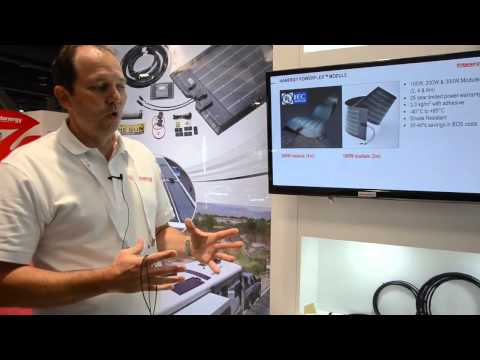 Hanergy – Flexible Solar Panels @ Solar Power International conference 2014