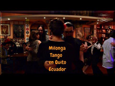 Milonga Cafélibro, Quito Ecuador