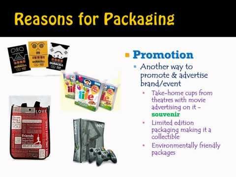 Packaging - This video explores the reasons for packaging; as well as the elements of an effective product's package.