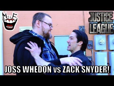 ZACK SNYDER vs JOSS WHEDON Epic Justice League Parody!