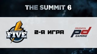 F5 vs ProDota #2 (bo3) | The Summit 6, 12.10.16