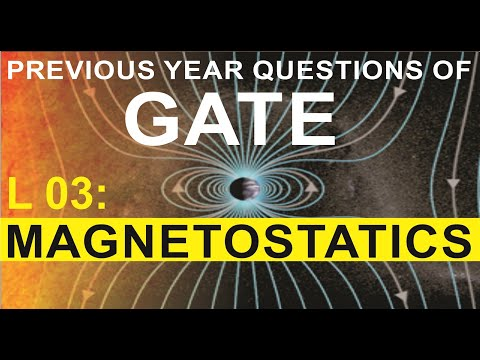L 03 Magnetostatics (EMFT) | GATE Previous Year Questions | Compete India Zone | CIZ