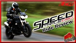 9. Triumph Speed Triple 1050 - Review Ride (60FPS)