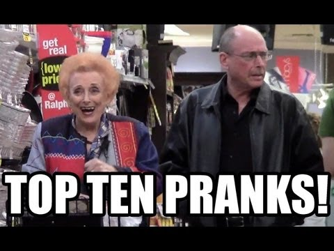 MediocreFilms - Here are the ten funniest grocery store pranks submitted by Facebook fans! See PART TWO! http://youtu.be/NS0w0YfAM4o More Grocery Store Douchebaggery: Chicke...