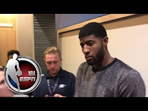 Video: Paul George talks offense and early struggles | NBA on ESPN
