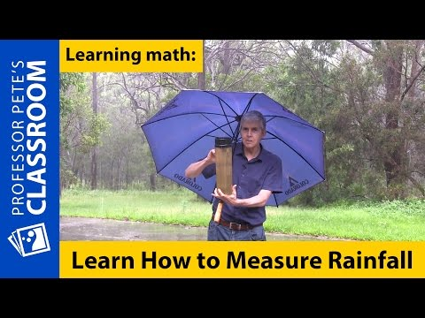 Learn How to Measure Rainfall