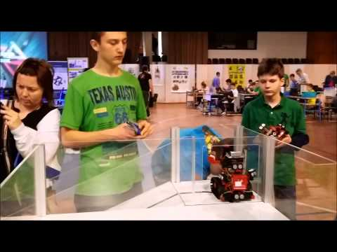 Team Stellar at RoboCup Dubrovnik Open, March 22, 2014., in Dubrovnik, Croatia