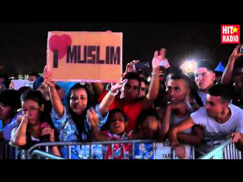 Reportage du festival des plages avec Muslim à Mdiq avec Maroc Telecom et HIT RADIO