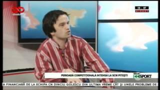 Ora de sport-Dragoș Șerban, director SCM Pitești
