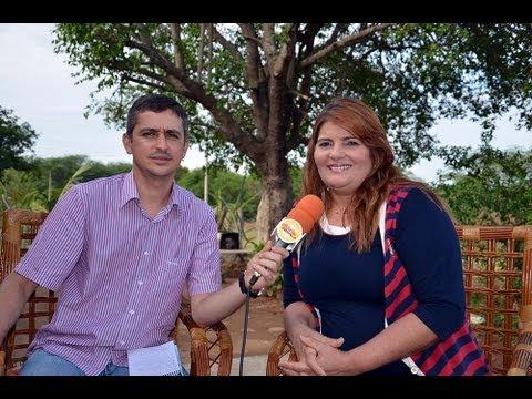 Entrevista_Prefeita de Bonito de Sta. Fé Alderi Cajú 13042013