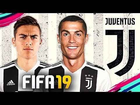 La JUVENTUS in FIFA 19 con CRISTIANO RONALDO & DYBALA!!! POSSIBILE TRIPLETE?! [Serie A 2018/2019]