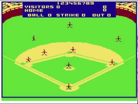 TRS-80 Color Computer - Color Baseball