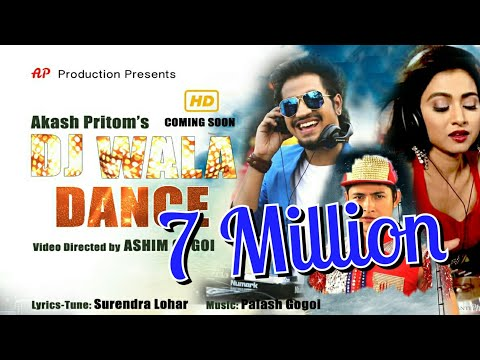 Video Dj Wala Dance By Akash Pritom   Official Video 2018   New Baganiya Song download in MP3, 3GP, MP4, WEBM, AVI, FLV January 2017