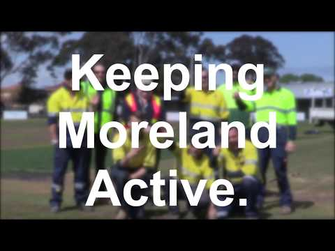 Sports ground maintenance video