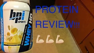 My review of Whey HD protein from bpi sports.Check them out!