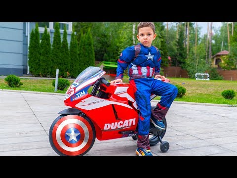 Fun game from Artem with superheroes and more Fun and playing for kids