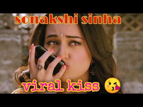 Sonakshi Sinha viral kiss 😘