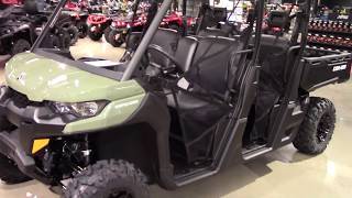10. 2019 Can-Am DEFENDER MAX BASE HD8 - New Side x Side For Sale - Elyria, OH