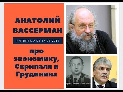 Анатолий Вассерман - Интервью 14.03.2018 - DomaVideo.Ru