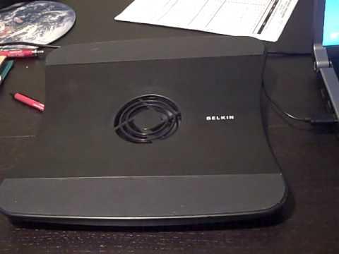 Belkin Laptop Cooling pad noisy startup
