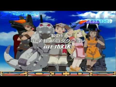 ZOIDS OPENING 1 FULL HD (Español Latino) 1080 pixeles 1